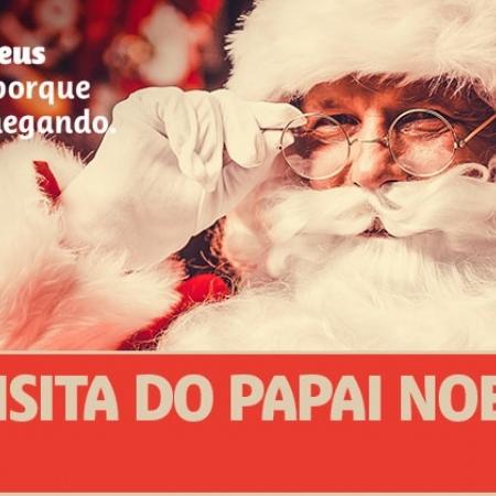 Papai Noel visitará a Cooper