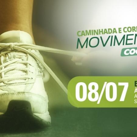Inscrições abertas para a Caminhada e Corrida Movimento Cooper em Blumena...