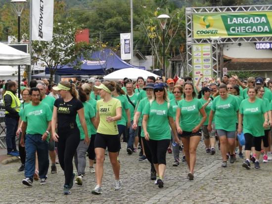 Inscrições para a Caminhada e Corrida Movimento Cooper Jaraguá