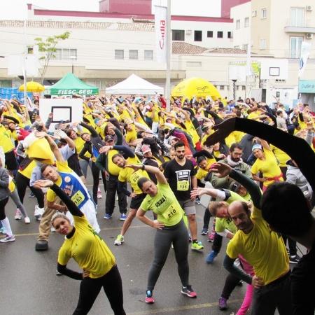 Cooperativa incentiva a prática de exercícios físicos