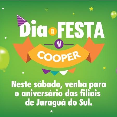 Cooper celebra o terceiro ano em Jaraguá do Sul