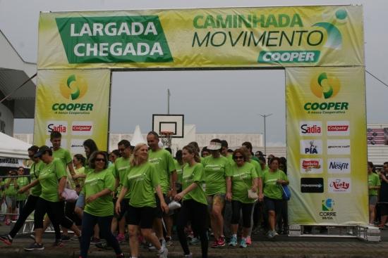 Caminhada e Corrida Movimento Cooper abre inscrições para a etapa Jaraguá do Sul