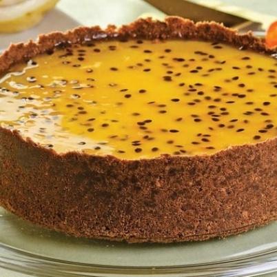 Cheesecake Castanha Maracujá