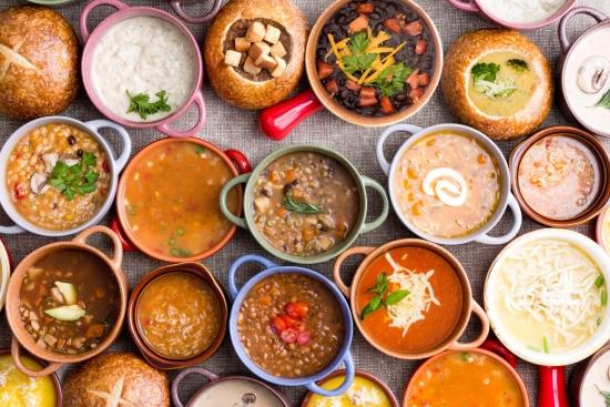 Saiba a diferença entre sopas, caldos e cremes