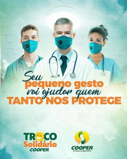 Troco Solidário será destinado a hospitais