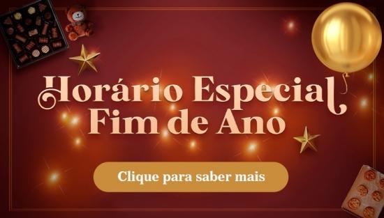Horário especial fim de ano