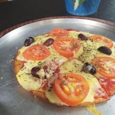Pizza lowcarb sem glúten