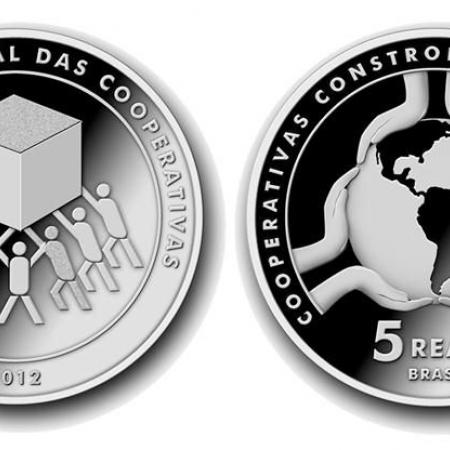 Banco Central lançará moeda em comemoração ao Ano Internacional das Cooperativas
